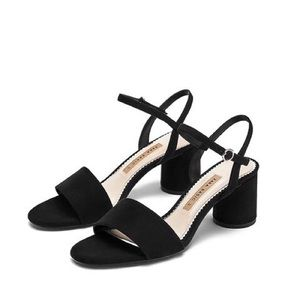Zara Thick Heeled Sandals